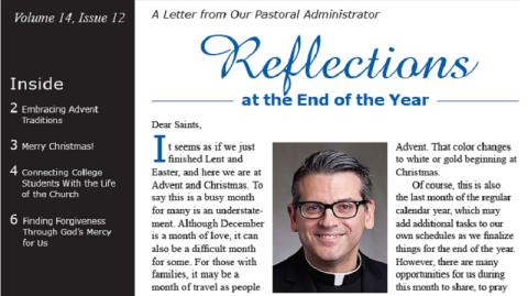 Monthly Parish Newsletter - December 2017