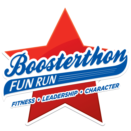 Boosterthon fun run and color run
