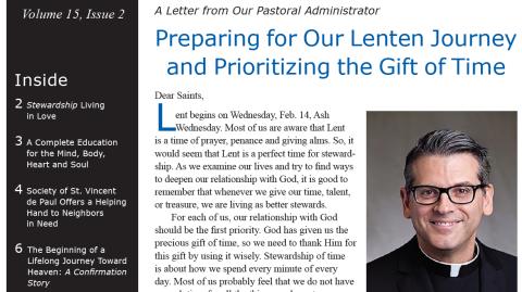 Monthly Parish Newsletter - February 2018
