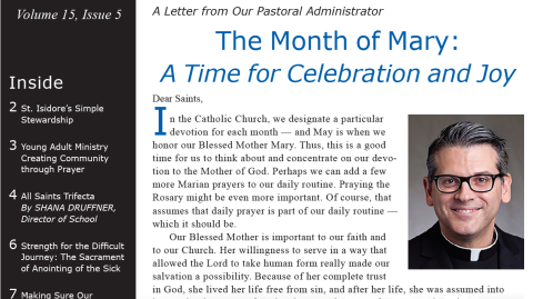 Monthly Parish Newsletter - May 2018