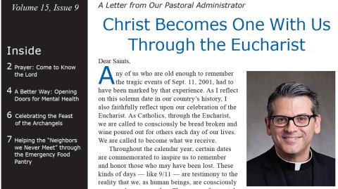 Monthly Parish Newsletter - September 2018