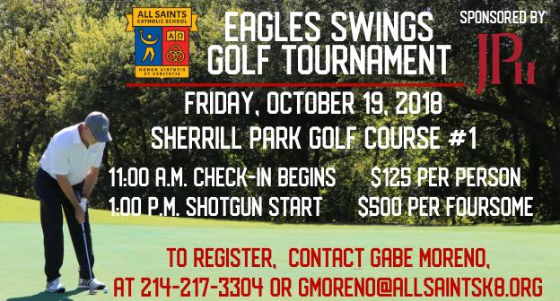 All Saints Golf Tournament