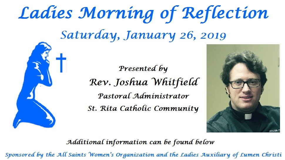Ladies Morning of Reflection