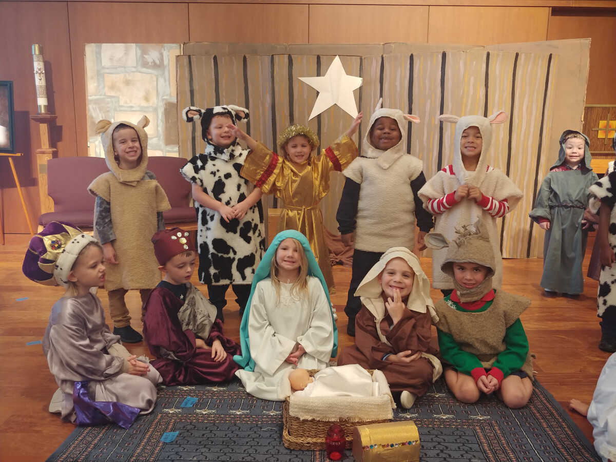 PreK Christmas Pageant
