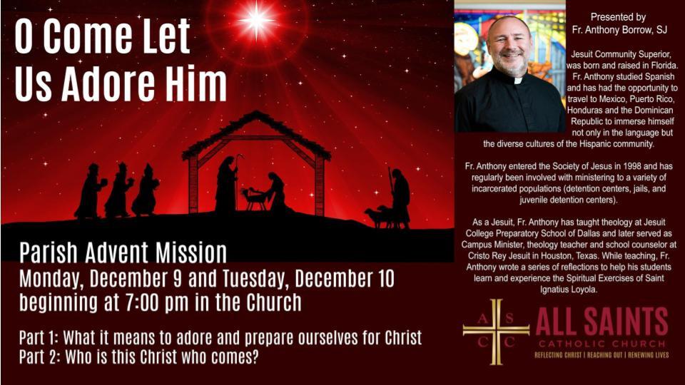 Parish Advent Mission