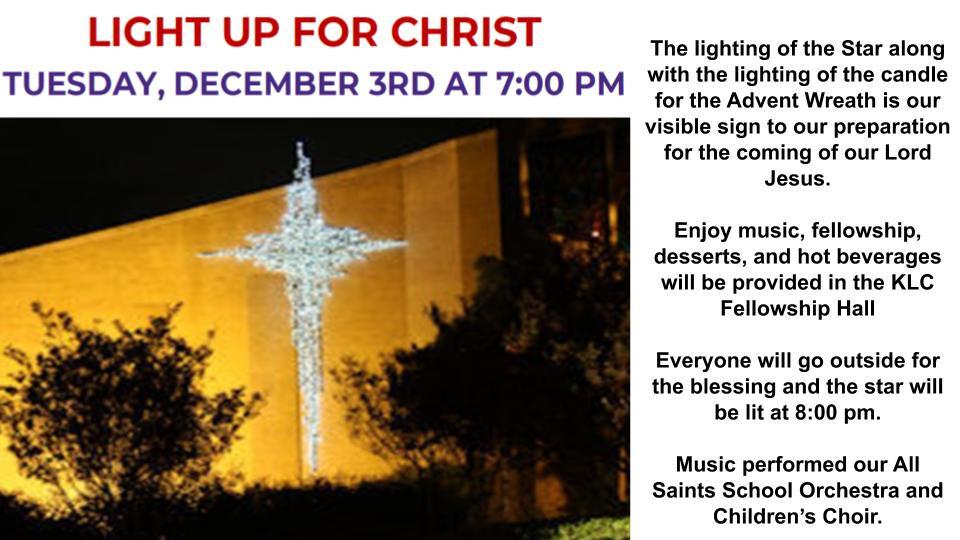 Light Up for Christ