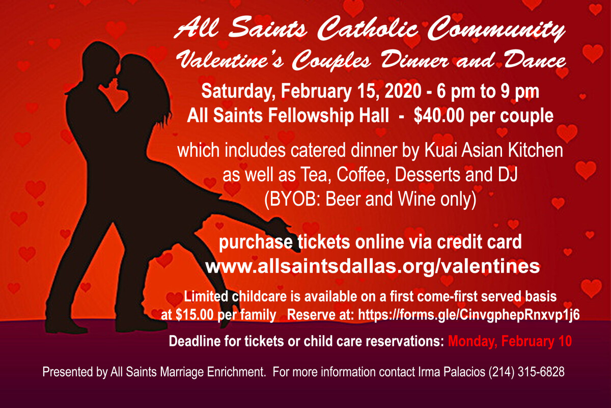 Valentine's Couples Dinner and Dance