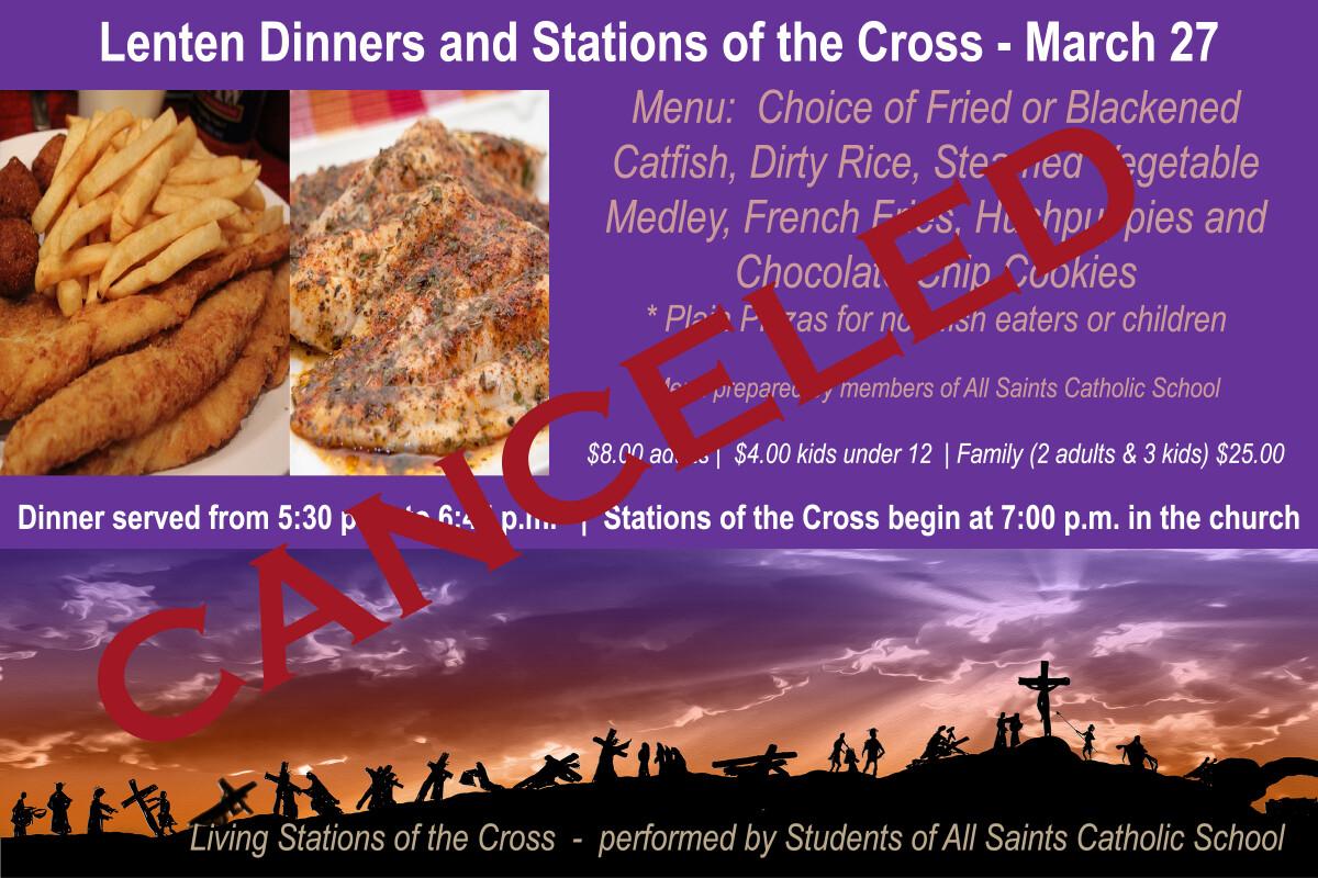Lenten Dinner and Stations of the Cross
