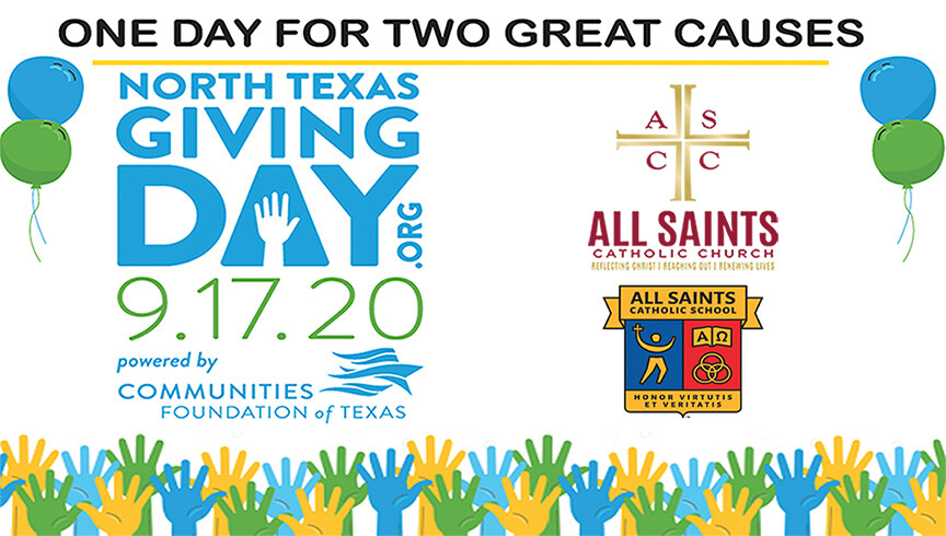 North Texas Giving Day - All Saints Church