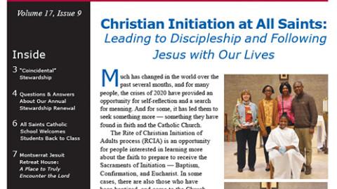 Monthly Newsletter - September 2020