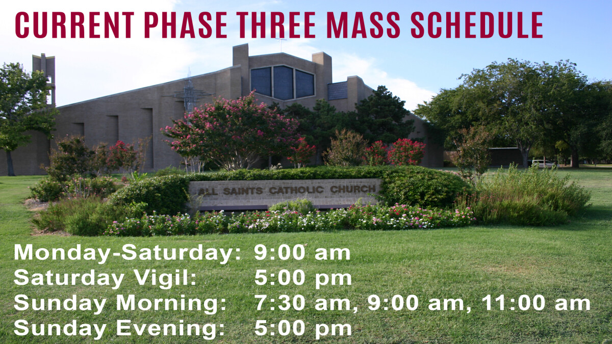Sunday Mass - 7:30 AM (Reservations Required)