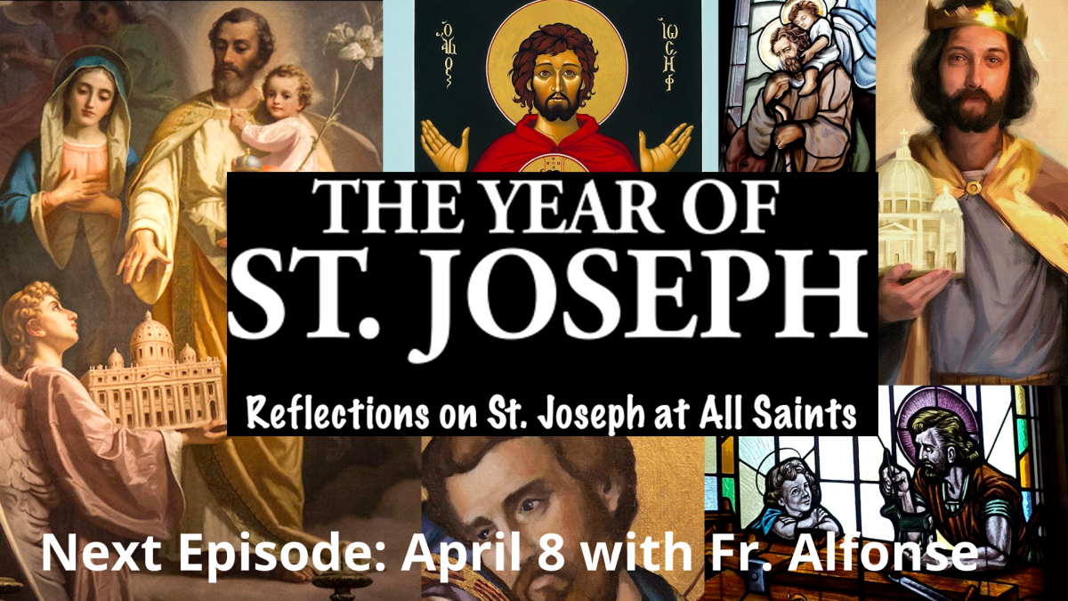 The Year of St. Joseph Reflection
