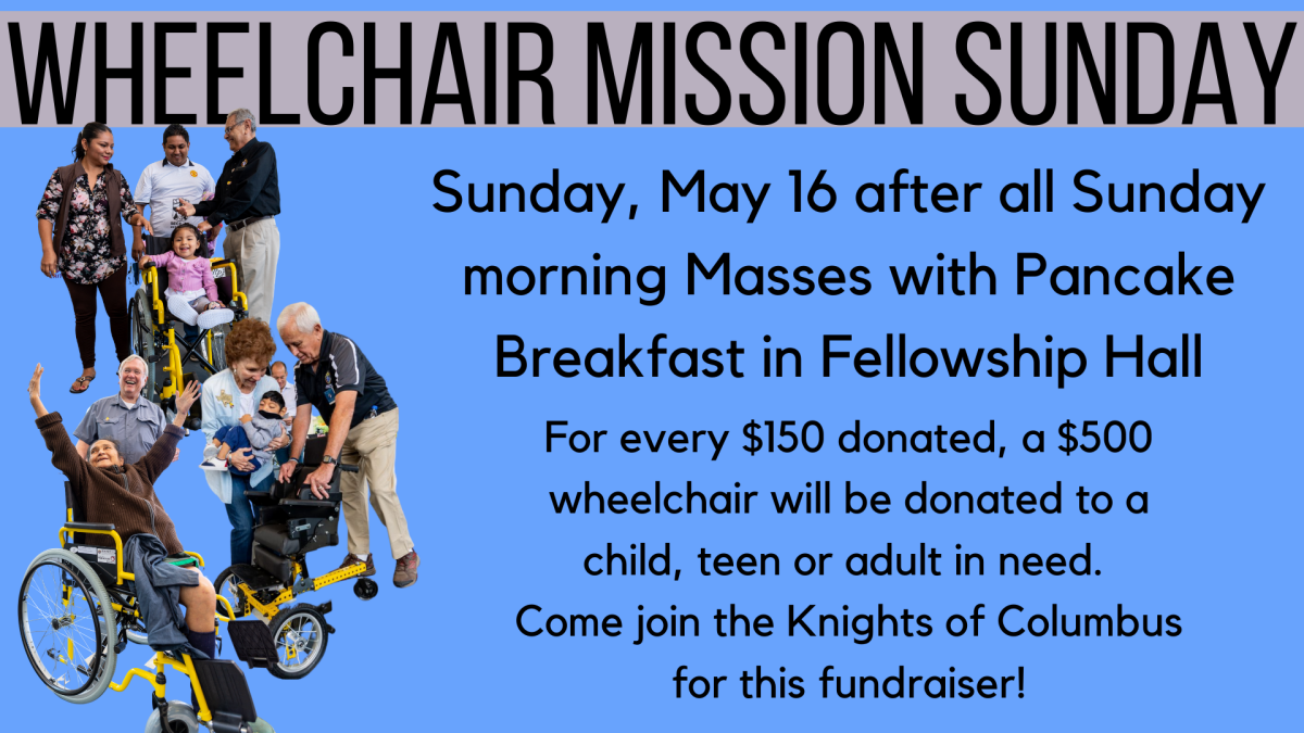Wheelchair Mission Sunday