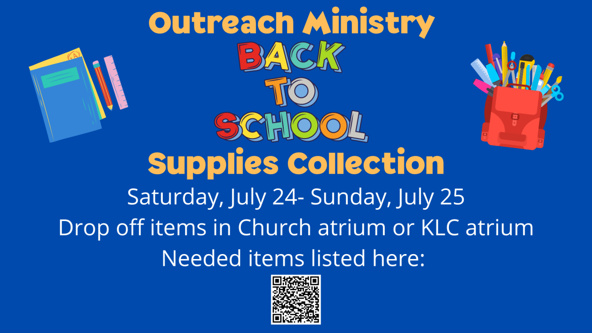 Outreach Ministry Back to School Collection