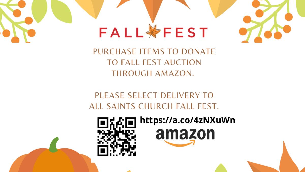 Fall Fest Silent Auction