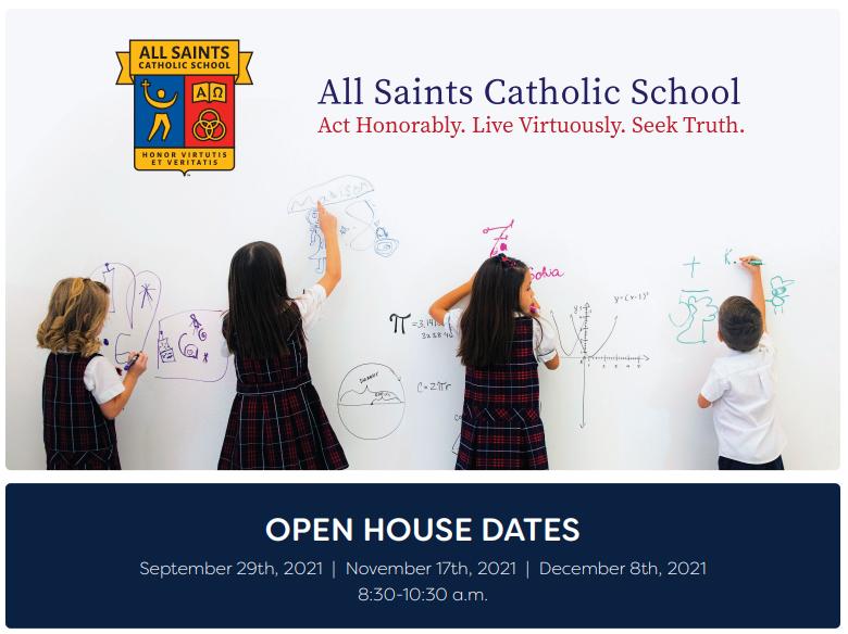 All Saints Catholic School Open House